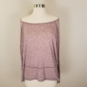Free People • Soft & Sheer Long Sleeve Tee [Tops]